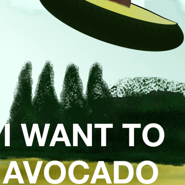 I WANT TO AVACARDO