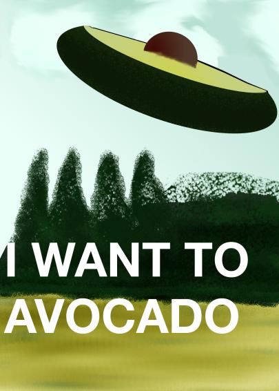 I WANT TO AVACARDO